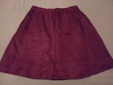 Womens Banana Republic Linen Skirt 12 Mad Men