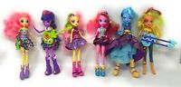 My Little Pony Equestria Girls Twilight Sparkle-Pinkie Pie-Trixie - Lot Of 6