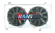 ALUMINUM  SHROUD & Fans FOR 2003-2007 HONDA ACCORD J30A1 J30A5 3.0L V6 Only