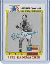 SWEET 1983 TOPPS OLYMPICS PETE RADEMACHER AUTOGRAPH AUTO BOXING CARD #43