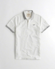 HOLLISTER Stretch Pique Polo **Brand New with Tag**