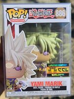 Funko POP! Animation YU-GI-OH #886 EVIL 😈 YAMI MARIK CCL EXCLUSIVE + PROTECTOR