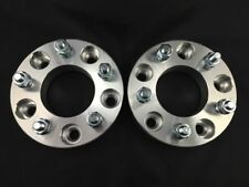 2 Pcs Wheel Spacers 5X135 To 5X135 | 87MM CB | 12X1.75 | 75MM For Lincoln Ford