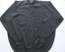 Pringle of Scotland Men's Sweater Wool Cashmere Grey V Neck Warm Chest 27""