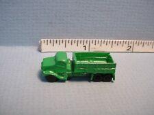 Dollhouse Miniature Green Dump Truck - Child's Toy #ISL2913- 1/12th Scale