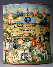 Garden of Earthly Delights Art Ceramic Vase by Bosch SDA10-1 Art Classical