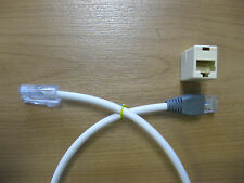 Phonapart UK4507/BP Socket RJ45 to BT 431A Plug Cable 4 Way Cat5e Telephone ISDN