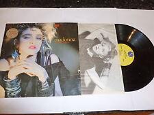 Madonna-el primer álbum de Madonna - 1983 alemán Sire Lp