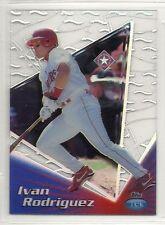 1999 Topps Tek Baseball - Pattern 20 - #23A - Ivan Rodriguez - Texas Rangers