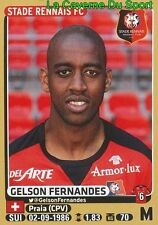 401 GELSON FERNANDES SWITZERLAND STADE RENNAIS.FC STICKER PANINI FOOT 2016