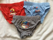 Brand New in box pack 3 Boys Spiderman Cotton pants / briefs / slips - Age 6 - 8