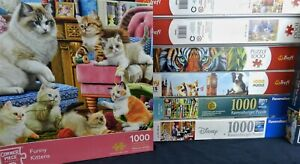 Ravensburger Disney Waddingtons Trefl 24 100 500 1000 Piece Quality Puzzles