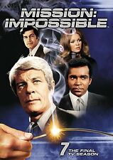 Mission Impossible Complete Seventh TV Season 7 Seven DVD Set Series Sho Episode