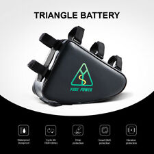 E-Bike Battery 36V 20Ah, Lithium-ion Batterie Triangulaire, pour Moteur Kit 750W