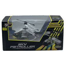 Remote Control, Sky Patroller RC Helicopter 3 Channel - Silver & White