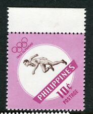 PHILIPPINES;  1960 early Olympics issue Mint MNH Unmounted 10c.