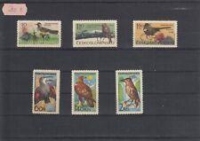 Tschechoslowakei 1965 Vögel  Satz 1568-73  postfr