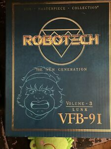 Toynami Robotech Masterpiece Lunk VfB 9 I Generation Beta Fighter Volume 3