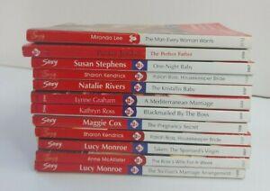 Mills and Boon, Sexy Series, Romance Novels, Bulk Lot of 12 books