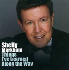FREE US SHIP. on ANY 2 CDs! ~LikeNew CD Markham, Shelly: Things I've Learned Alo