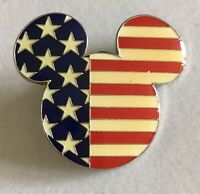 Disney Vacation Club Mickey Mouse Flag 9/11 Remembrance Pin Retired A234