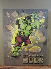 Vintage The Incredible Hulk 1988 poster Marvel 3612