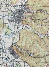 1916 Chehalis Washington Lacey Antique 30-minute USGS Topographic Topo Map