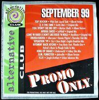"PROMO ONLY ""ALTERNATIVE CLUB SEPTEMBER 1999"" DJ PROMO CD COMPILATION YAZ *NEW*"