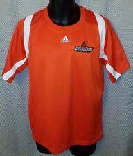Bowling Green Falcons A-Band Orange Adidas ClimaCool Jersey EUC - Mens Small