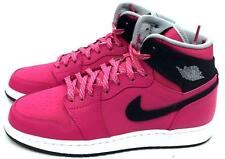 b8dcfaba234a2e Air Jordan 1 Retro High GG Youth Girls Lifestyle Casual SNEAKERS Pink 7.5