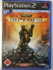 !!! PLAYSTATION PS2 SPIEL Warhammer Fire Warrior USK18, gebraucht aber GUT !!!