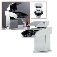 """Elegance"" Chrome Single Lever Mono Mixer Basin Inc Klik Klak Waste Enviro-Click"