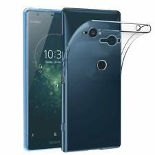 For Sony Xperia XZ2 Compact Case Clear Silicone Slim Gel Cover & Stylus Pen