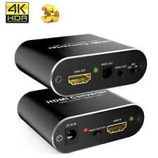HDMI Audio Extractor 4K 60Hz 5.1 ARC HDMI Splitter Extractor Optical TOSLINK S2Y