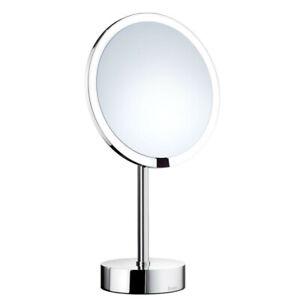 Smedbo Kosmetikspiegel mit LED-Beleuchtung Standmodel 7-fach Vergrößerung