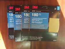 """3M 03114 6"""" Sanding Discs With Stikit lot of 4"""