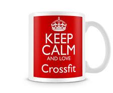 KCANDLOVE88 - KEEP CALM AND LOVE Crossfit- name mugs custom gift personalised pr