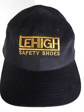 LEHIGH SAFETY SHOES Work Footwear Advertising Logo SNAPBACK HAT 100% Cotton CAP