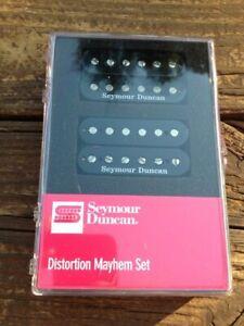 Seymour Duncan SH-6 Distortion Mayhem Set Bridge & Neck Black 11108-21-B