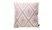 Cushion - Embroided Cotton Pale Pink