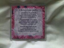 Personalised Coaster   Mother in Law   Poem   Various Designs