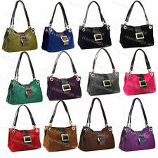 Magnetic Snap Suede Totes