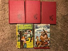 Vintage LOT of 5 THE HAPPY HOLLISTERS Incl FIRST BOOK of the series 1953   E20