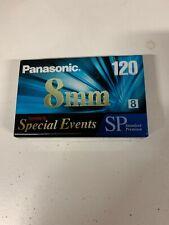 Panasonic 8mm 120 Special Events SP Standard Premium Camcorder Video Tape