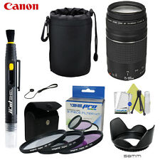 Canon EF 75-300mm f/4.0-5.6 III AF Telephoto Lens for Canon T3i T4i T5 T5i T6i