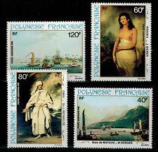 Polynésie timbre Poste Aérienne N° 163 à 166 neuf ** / MNH
