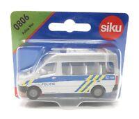 Siku metall Edition Tschechien 0806 Polizei Bus Policie Auslandsmodell