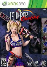 Lollipop Chainsaw Microsoft Xbox 360 COMPLETE WHITE LABEL ZOMBIES MATURE ADULT