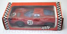 Modellini statici di auto da corsa sportive e turistiche rosso in plastica, scala 1:18