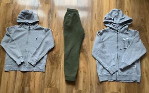 Boys Bundle Clothes Designer Polo Ralph Lauren Lacoste Nike Hoodie Jogge 8 Yrs